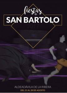 Cartel de las Fiestas de San Bartolo en Aldeadávila de la Ribera._detail